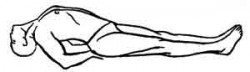 Матсиасана или поза Рыбы