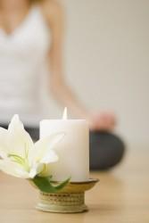 Медитация останавливает бег мыслей
